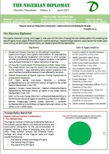 The Nigerian Diplomat Newsletters