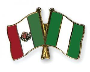 Nigeria and Mexico